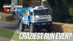 100 Redbull Truck KAMAZ Dakar Trucks Insane FOS Run YouTube