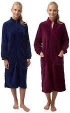 robe de chambre avec fermeture eclair senoretta robe de chambre courte taille s fermeture eclair ebay