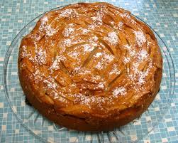 versunkener apfelkuchen oder versuch einer apfelrose