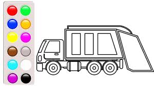 Garbage Truck Coloring Pages, Learn Colors With Truck Vehicles ... Garbage Truck Coloring Page Inspirational Dump Pages Printable Birthday Party Coloringbuddymike Youtube For Trucks Bokamosoafricaorg Cool Coloring Page For Kids Transportation Drawing At Getdrawingscom Free Personal Use Trash Democraciaejustica And Online Best Of Semi Briliant 14 Paged Children Kids Transportation With