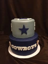 Dallas Cowboys Baby Room Ideas by 2 Tier Dallas Cowboys Cake Our Cakes Pinterest Dallas