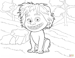 Click The Spot From Good Dinosaur Coloring Pages To View Printable