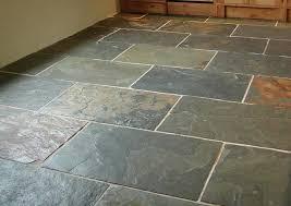 slate flooring great look variegated color