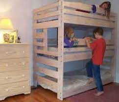 bunk bed plans you can build for kids and adults loft bed plans