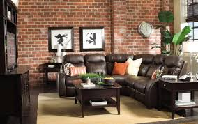 living room designs with brown couch interior design