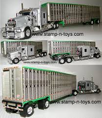 Custom Tractor Trailers All Manufacturers | Stamp-n-Toys Farm Toys For Fun A Dealer Toy Cattle Hauling Trucks Wyandotte Dodge Cab Great Plains Cattle Ranch Tt Truck 40s V Collectors Official Tekno Distributors Suppliers 12002 Livestock Road Train Highway Replicas Model Trucks Diecast Tufftrucks Australia Rural Toys Getyourpitchforkon Wooden Toy B Double Kenworth And Youtube 120th 28 Sundowner Trailer By Big Country