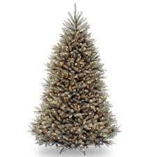 Green Fir 75 Hinged Artificial Christmas Tree With 750 Clear Lights