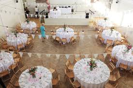 Wedding Round Table Setting Easy Gourmet At The Tab Venue