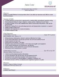 Medical Assistant Resume Example Inspirational New Certified Beautiful Of