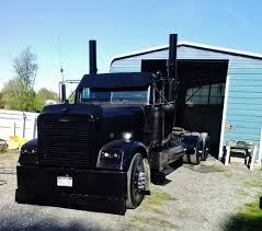 100 Blacked Out Truck Black 1999 Freightliner Of Charles Timbrook