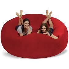 Galleon - Chill Sack Bean Bag Chair: Giant 8' Memory Foam Furniture ...