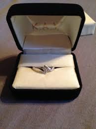 Diamond Promise Ring 1 20 Ct Tw Round Cut 10K White Gold Kay Jewelers