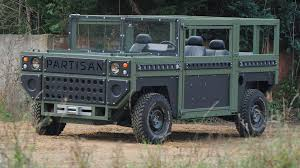 100 Chevy Military Trucks For Sale The Partisan One Is A FlatPack Allegedly BombProof