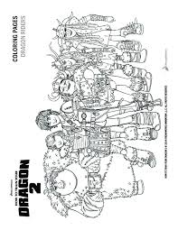 HOW TO TRAIN YOUR DRAGON Coloring Pages 5 Movies Online