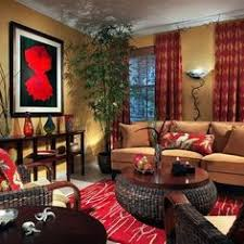 Red And Taupe Living Room Ideas by 15 Red Themed Living Room Designs Red Accents Living Rooms And