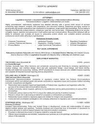 Sample Resume For Attorney Prosecutor Example Summary