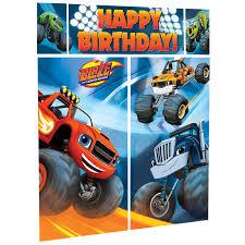 6ft Blaze Monster Machines Scene Setters Kit Truck Kids Party Prop ... Monster Truck Jam Birthday Party Pro Planner Madness Obstacle Combos Tall Slides Secret Tunnels Custom Blaze And The Machines Invitation Cupcakes Kids Parties Wall Scene Setter Majors Decoration Boy Decorations Ideas Ultimate Pack Birthdays In 2018 Pinterest Bounce House Combo Nice Invitations 94 In Design With Theme Grace Giggles Glue Order A Cake At Cold Stone Creamery