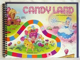 Printable Candyland Board Game