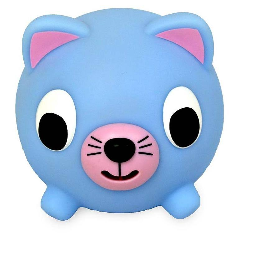 Jabber Ball Blue Cat Toy - Large