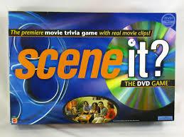 Scene It Movie Edition 2003 DVD Trivia Board Game Mattel Complete EUC
