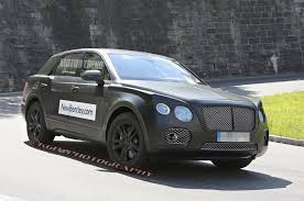 Spied: Bentley SUV Prototype W/ Continental GT Face - Motor Trend WOT Carscoops Bentley Truck 2017 82019 New Car Relese Date 2014 Llsroyce Ghost Vs Flying Spur Comparison Visual Bentayga Vs Exp 9f Concept Wpoll Dissected Feature And Driver 2016 Atamu 2018 Coinental Gt Dazzles Crowd With Design At Frankfurt First Test Review Motor Trend Reviews Price Photos Adorable 31 By Automotive With Bentley Suv Interior Usautoblog Vehicles On Display Chicago Auto Show