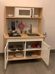 kinder küche ikea duktig mit viel zubehör eur 60 50