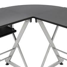 Mainstays Corner Computer Desk Instructions by Best Choice Products Wood L Shape Corner Computer Desk Pc Laptop