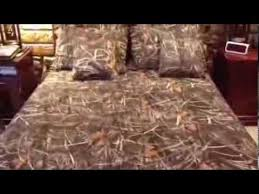 realtree max 4 camo bedding youtube