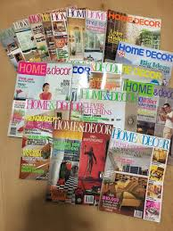 100 Home Furnishing Magazines PL 18 Copies Of HOME DECOR Books Stationery