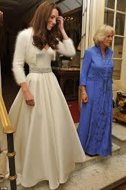 Kate In Her Gown For The Evening Left Clarence House Alongside Camilla Parker Bowles
