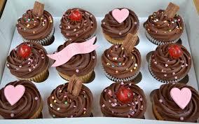Chocolate Happy Birthday 12 Cupcake Gift Box