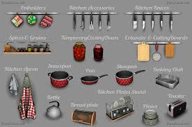 Kitchen Decor Set The Sims 3 By Dara Savelly Darasims