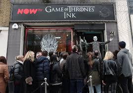 100 Studio 6 London The Game Of Thrones Popup Tattoo Studio 1th April
