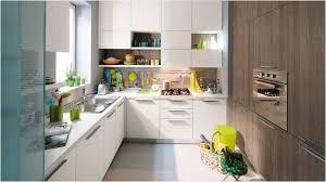 corner kitchen design ideas with white painted kitchen cabinet