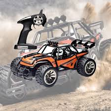 1:16 RC Racing Car Off Road Monster Truck 2.4GHz 2WD Waterproof ...