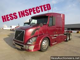 100 2007 Hess Truck USED VOLVO VNL TANDEM AXLE SLEEPER FOR SALE IN PA 23111
