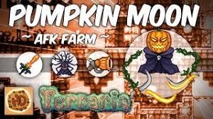 Pumpkin Moon Terraria by Terraria Lunar Farm Pumpkin Frost Moon Farm Jinni