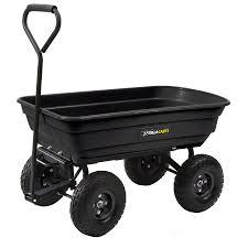 Gorilla Carts 600 lb Capacity Yard Cart