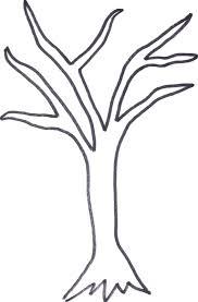 Bare Tree Template Printable