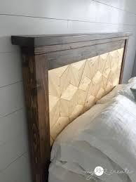 Ana White Farmhouse Headboard by Farmhouse Storage Bed My Love 2 Create