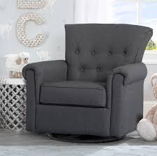 99 Get Prices Nursery Rocking Chair Delta Children Harper Swivel Glider Reviews Wayfair