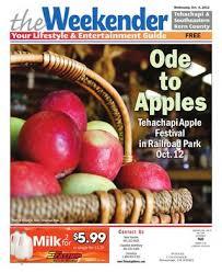 Apple Shed Inc Tehachapi Ca by The Weekender 08 21 By Tehachapi News Issuu