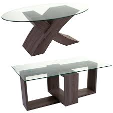 100 Living Room Table Modern Details About Tempered Glass Wood Coffee Furniture Designer Furniture