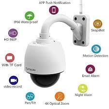 ip filaire exterieur sumpple s610 éra ip de surveillance wifi filaire 960p 1 3