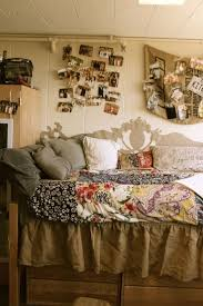 Bohemian Bedroom Tan Vintage Or Rustic College Dorm Room