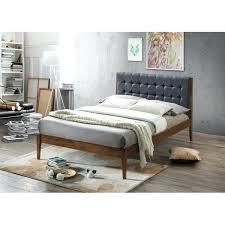 Wood Platform Bed Frame Queen by New Wood Platform Bed Frame Xl Twin Size Solid Hardwood U2013 Vansaro Me