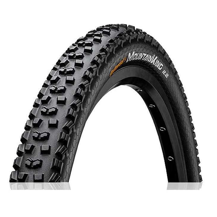 "Continental Mountain King Tire - 26"" x 2.2"", Steel Bead, Black"