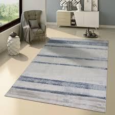 teppich modern skandinavisch grau blau