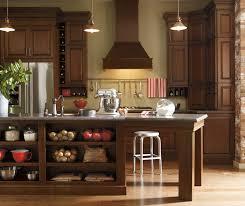 Merillat Bathroom Cabinet Sizes by Dark Cherry Kitchen Cabinets Schrock Cabinetry