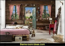 Komar Dolomite Wall Mural Cabin Theme Decorating Ideas